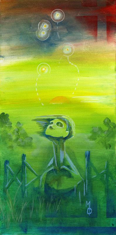 Summer in the Country | Original Art by Miles Davis | Massive Burn Studios