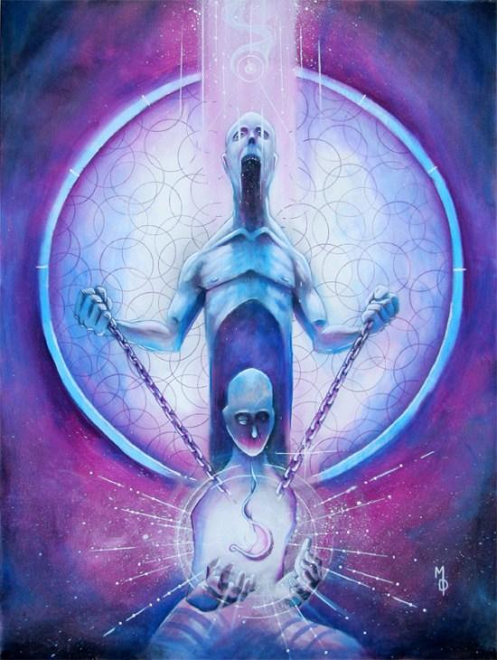 Soul Snatcher | Original Art by Miles Davis | Massive Burn Studios