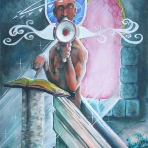 Religious Zealot | Original Art by Miles Davis | Massive Burn Studios