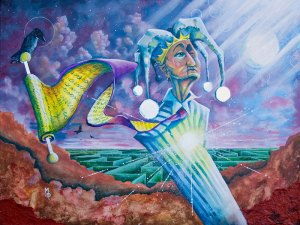 A Fool's Journey | Original Art by Miles Davis | Massive Burn Studios