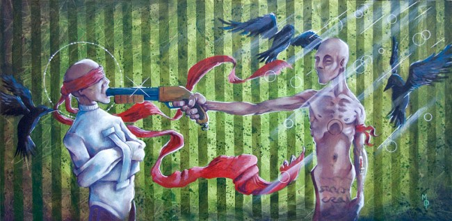The Last Act of a Tragedy | Original Art by Miles Davis | Massive Burn Studios