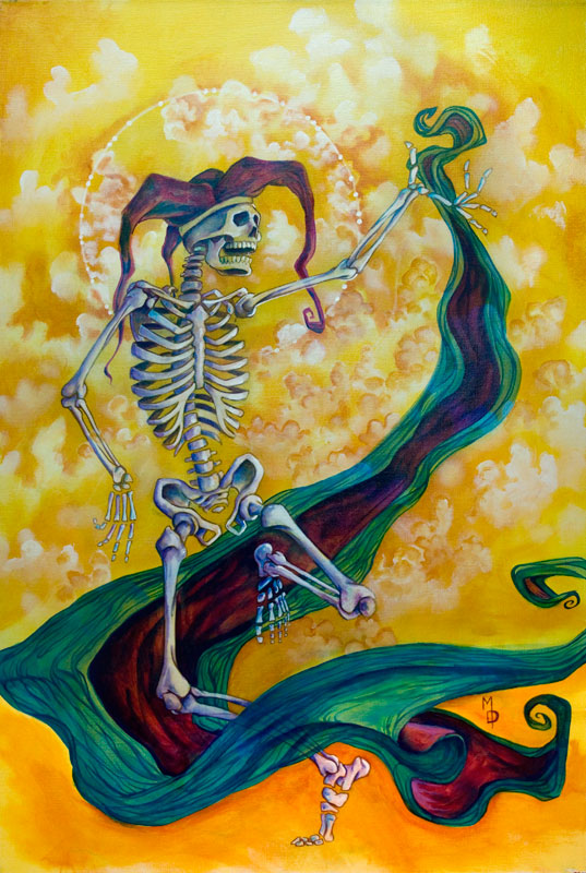 The Last Laugh | Original Art by Miles Davis | Massive Burn Studios