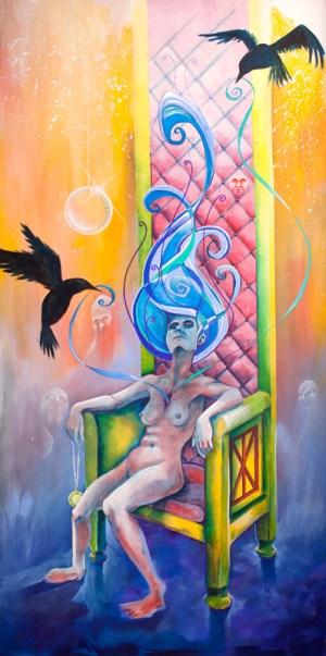 Wicked Woman's Counsel | Original Art by Miles Davis | Massive Burn Studios