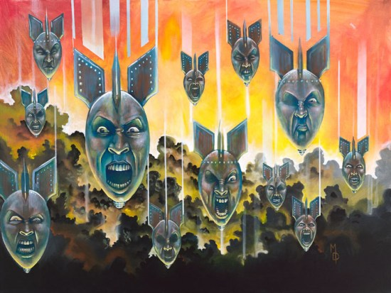 Sirens of Annihilation   Original Art by Miles Davis   Massive Burn Studios