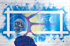 Space Dementia   Original Art by Miles Davis   Massive Burn Studios