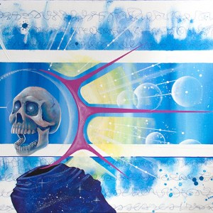 Space Dementia | Original Art by Miles Davis | Massive Burn Studios