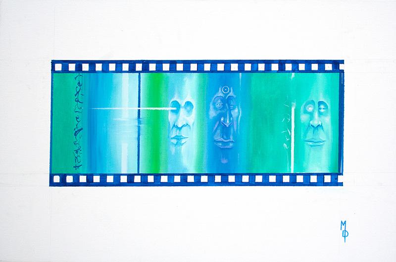 The Nobility of the Scene | Original Art by Miles Davis | Massive Burn Studios