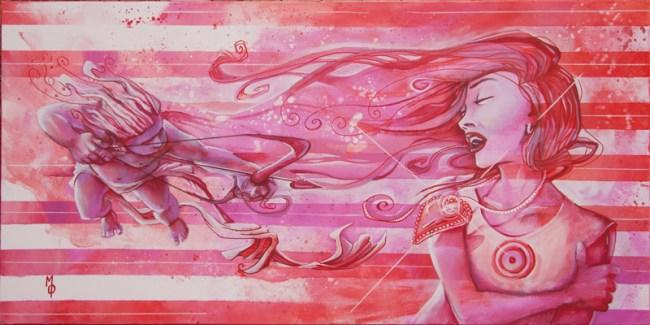 Lovestruck | Original Art by Miles Davis | Massive Burn Studios
