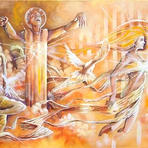 Serenading the Crossover   Original Art by Miles Davis   Massive Burn Studios