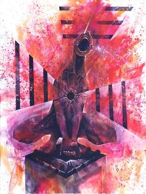 A Futile Release   Original Art by Miles Davis   Massive Burn Studios
