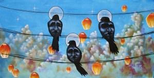 The Gloomy Truths | Original Art by Miles Davis | Massive Burn Studios