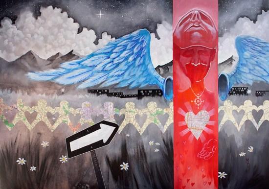 Paper Trails   Original Art by Miles Davis   Massive Burn Studios