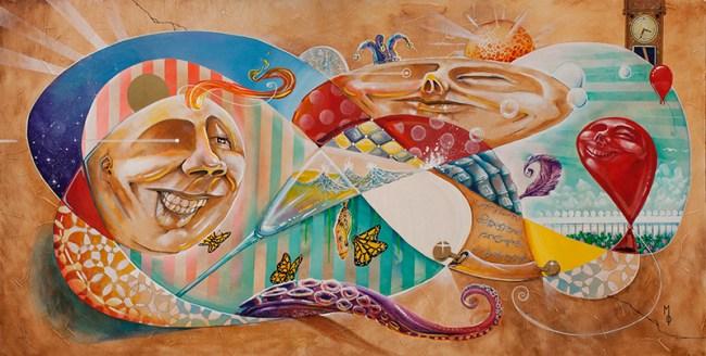 Primordial | Original Art by Miles Davis | Massive Burn Studios