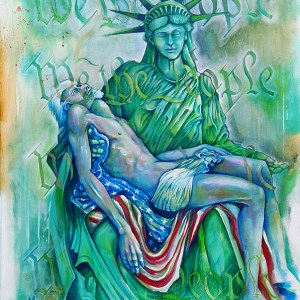 Loss of Liberty | Original Art by Miles Davis | Massive Burn Studios