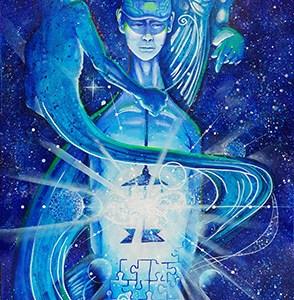 Swirl   Original Art by Miles Davis   Massive Burn Studios