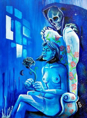 Death of a Romance | Original Art by Miles Davis | Massive Burn Studios