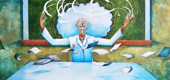 Scientific Methods | Original Art by Miles Davis | Massive Burn Studios