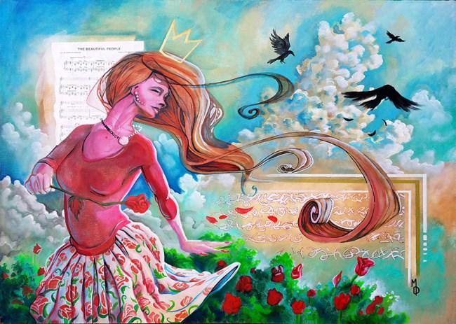 A Beautiful Breeze | Original Art by Miles Davis | Massive Burn Studios