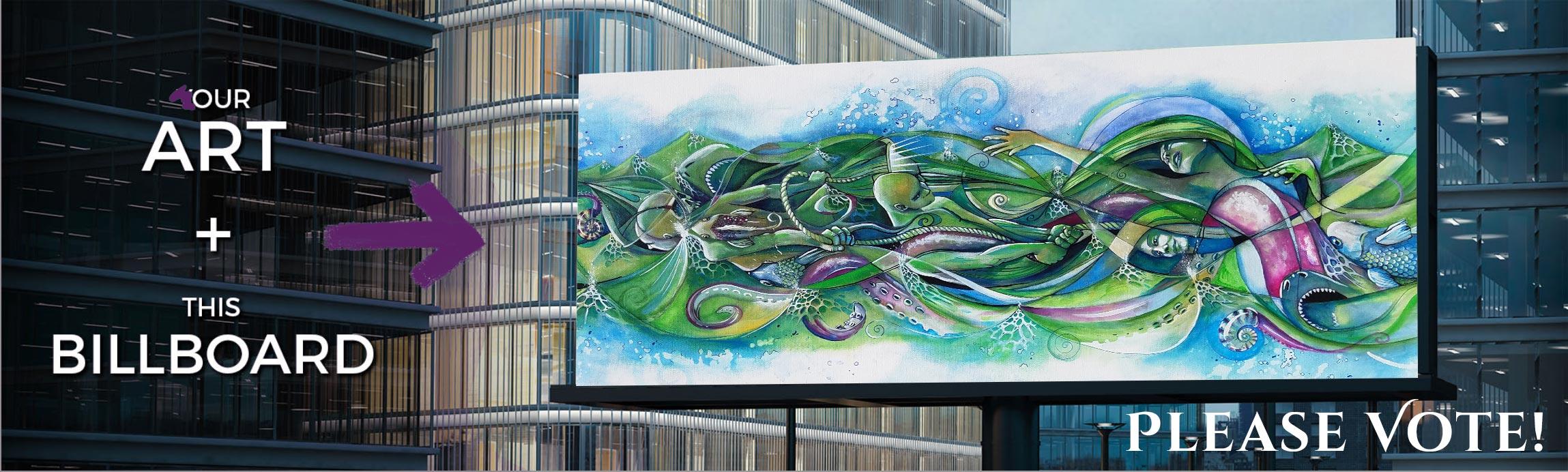 Please Vote My Art onto a Billboard | Pixels.com | Massive Burn Studios