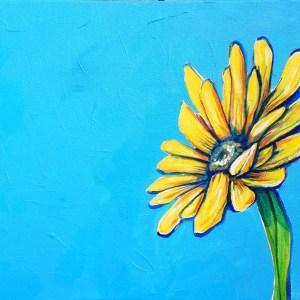 Sunny D | Original Painting by Miles Davis | Massive Burn Studios