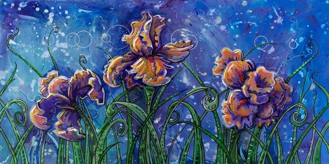 Flowers for Alexia   Limited Edition Giclée Print by Miles Davis   Massive Burn Studios