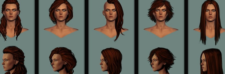 Vote For Your Favorite Conan Exiles Hair Styles