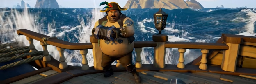 Sea Of Thieves Will Give Pirates Musical Instruments To Fill The Time Massively Overpowered