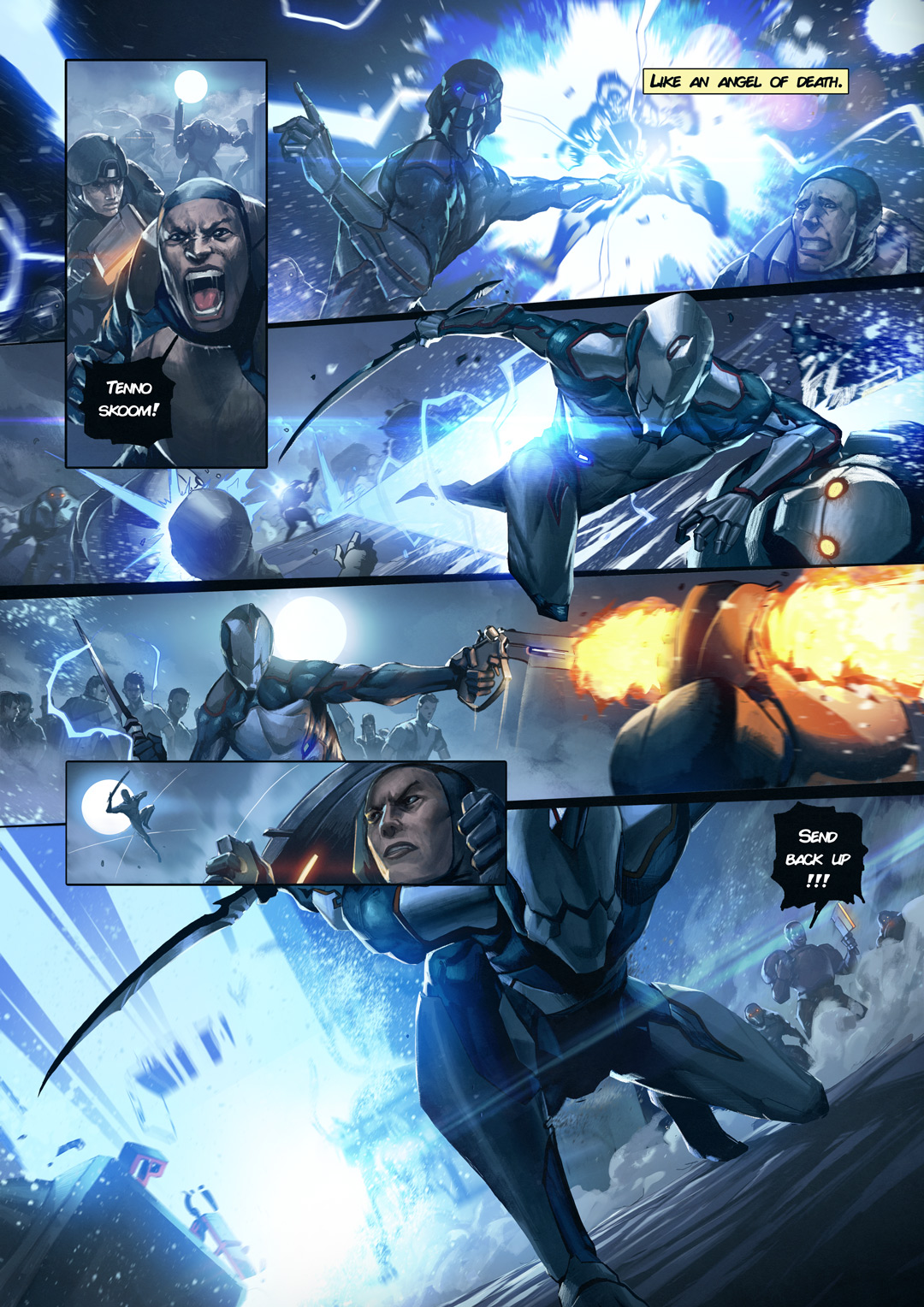 Warframe And Top Cow To Produce Exclusive Comic Book Series Massively Overpowered