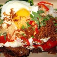 tiny's prime rib rice bowl