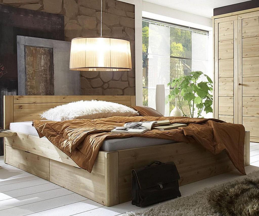 Schlafzimmer Komplett Mit Bett Liegefläche 200x200 ...