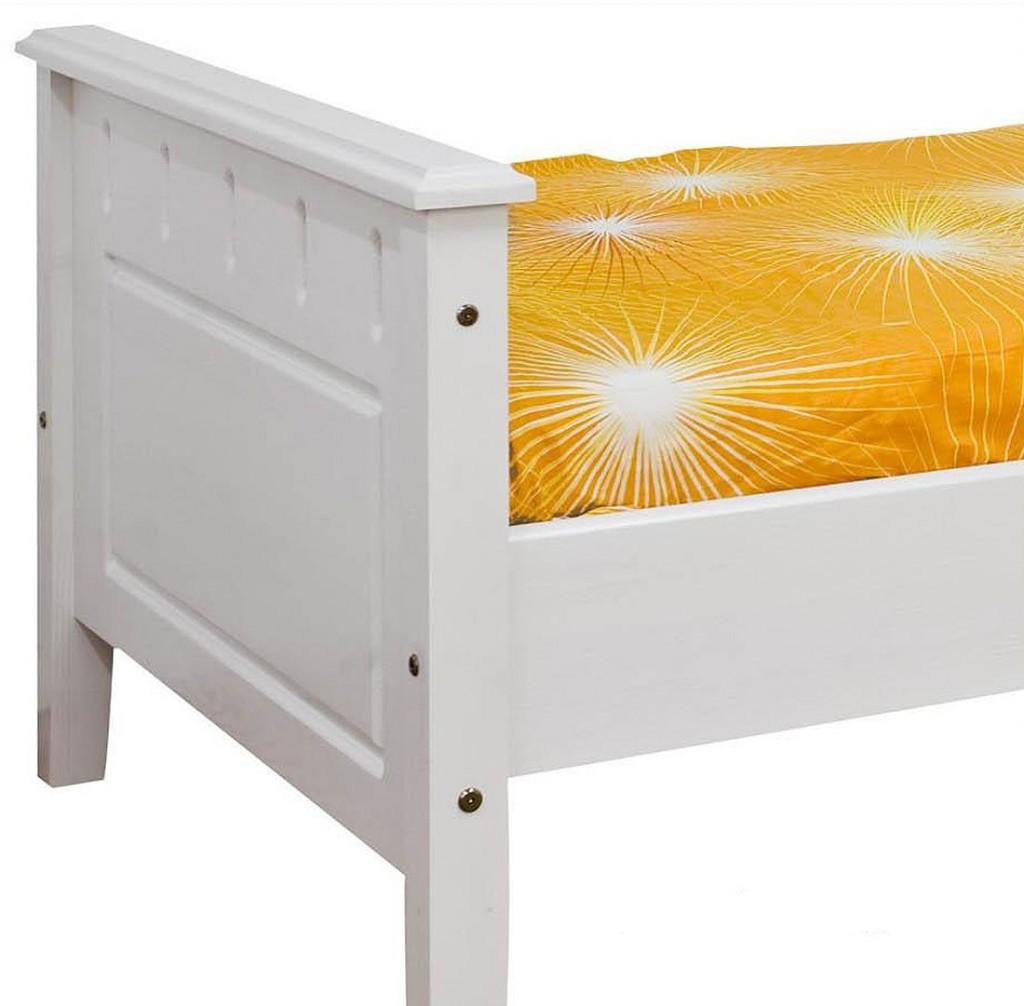 bett 90x200 massivholz weiss. Black Bedroom Furniture Sets. Home Design Ideas