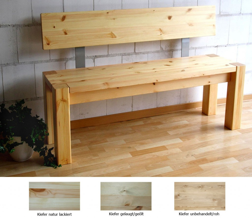 Küchenbank Mit Lehne Haus Dekoration Schaukelpferd Holz Mit Lehne Bvraocom  Massivholz Sitzbank 140cm Mit Rückenlehne Holzbank Lehne