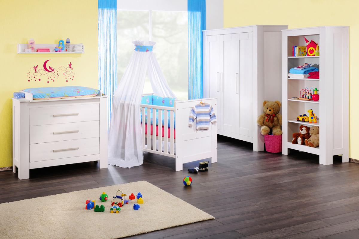 Babyzimmer Landhausstil Kleiderschrank Schlafzimmerschrank