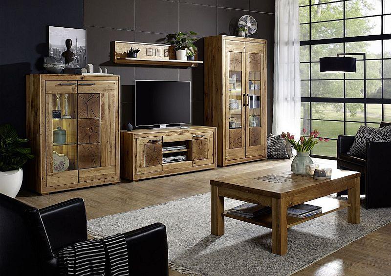Rustikale Wohnzimmermobel Led Lampe Hangeleuchte Holz Antik Balken Deckenlampe