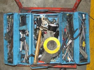 Messy toolbox