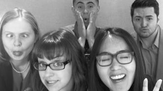 Photo-Booth Fun from Rebecca, Ami, Hoa, Christian, & Aaron