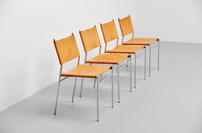 Martin Visser SE06 dining chairs t Spectrum 1967