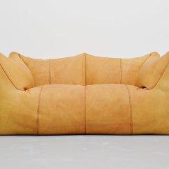 Tufted Leather Sofa Edmonton Hamilton Brown Mario Bellini Sectional
