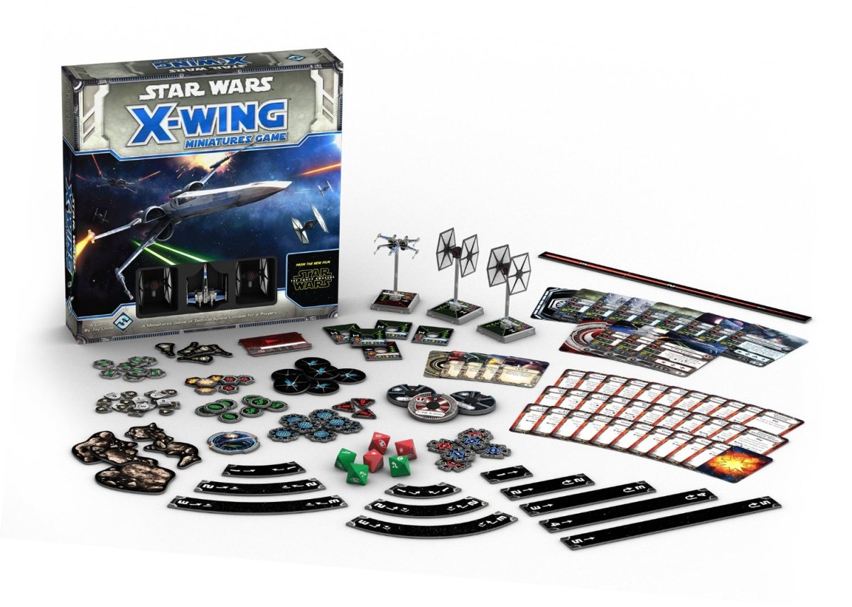 Star Wars X-Wing Miniatures Game – Base Set (Fantasy Flight Games) - Review