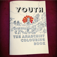 YOUTH from Killing Joke announces the publication of 'The Anarchist Colouring Book'