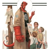 Hellboy And The B.P.R.D.: 1953 – Beyond The Fences #1 – Mike Mignola, Chris Roberson, and Paolo Rivera (Dark Horse Books)
