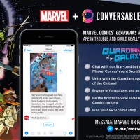 Converse with some of your Favorite Marvel Super Heroes and Become Part of the Story with Marvel Comics' Guardians of the Galaxy Chatbot!