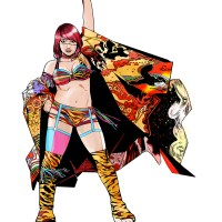 WWE Superstar Asuka Debuts at BOOM! Studios