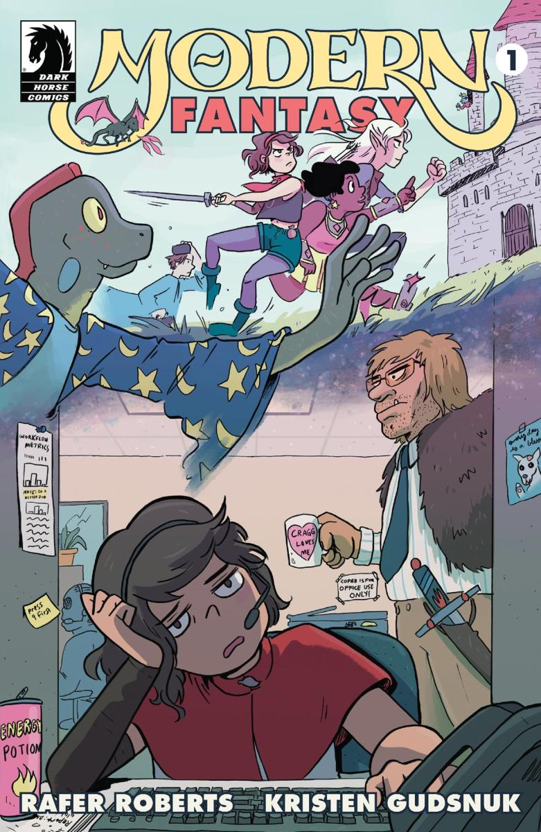 MAGIC MEETS THE MODERN WORLD IN A HILARIOUS NEW SERIES FROM KRISTEN GUDSNUK AND RAFER ROBERTS