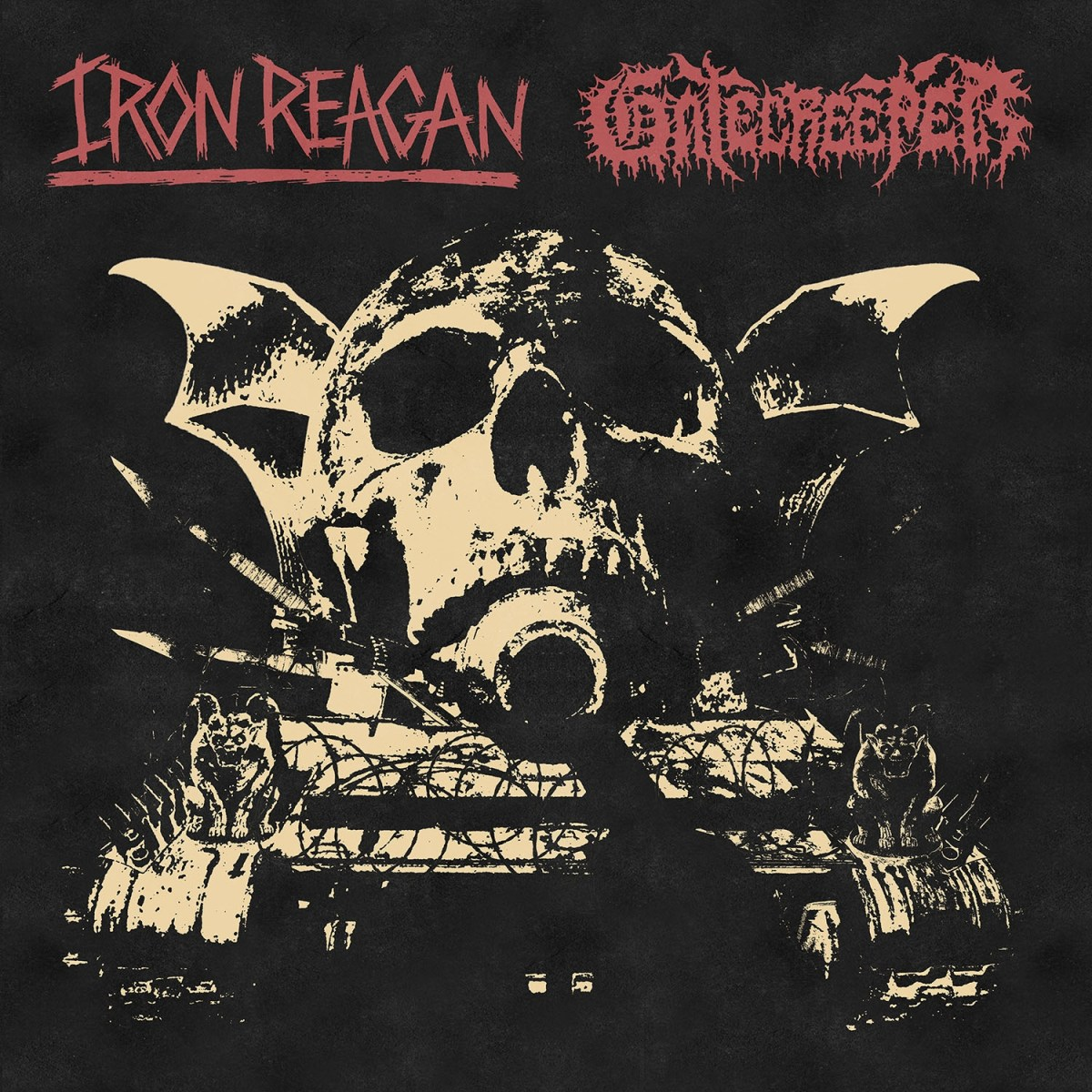 Iron Reagan & Gatecreeper – Split LP (Relapse)