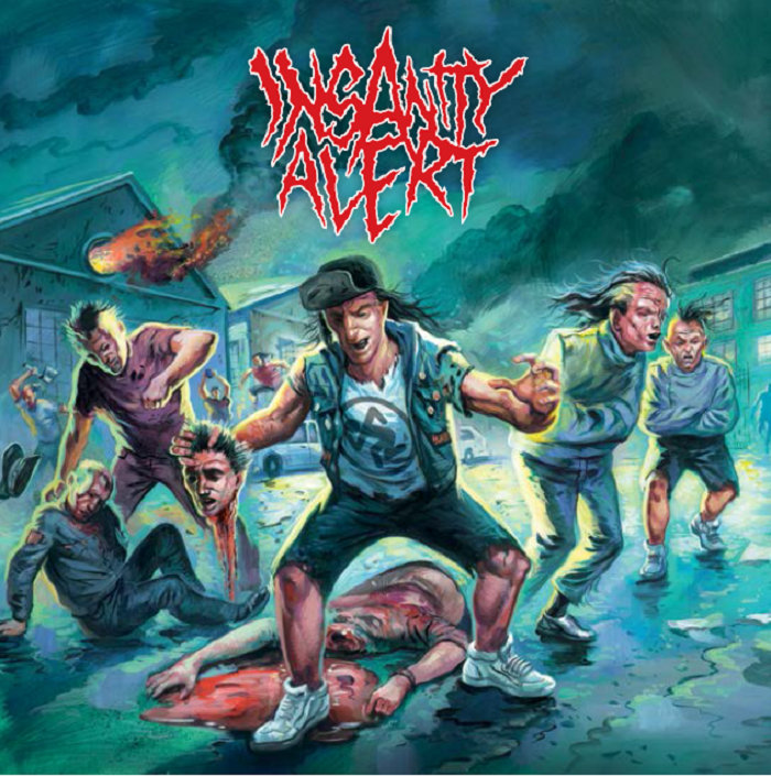 Insanity Alert – Self Titled   (Season of Mist)