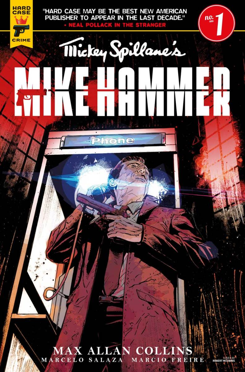 Titan Celebrates Mickey Spillane's 100th Anniversary With An All-New Mike Hammer Comic Book Series!