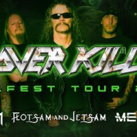 OVERKILL announce 'Killfest Tour 2019' with Destruction