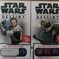 Star Wars Destiny: General Grievous Starter Set & Obi-Wan Kenobi Starter Set (Fantasy Flight Games)