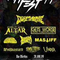 Riff Fest 2019: Dopethrone lead the charge...